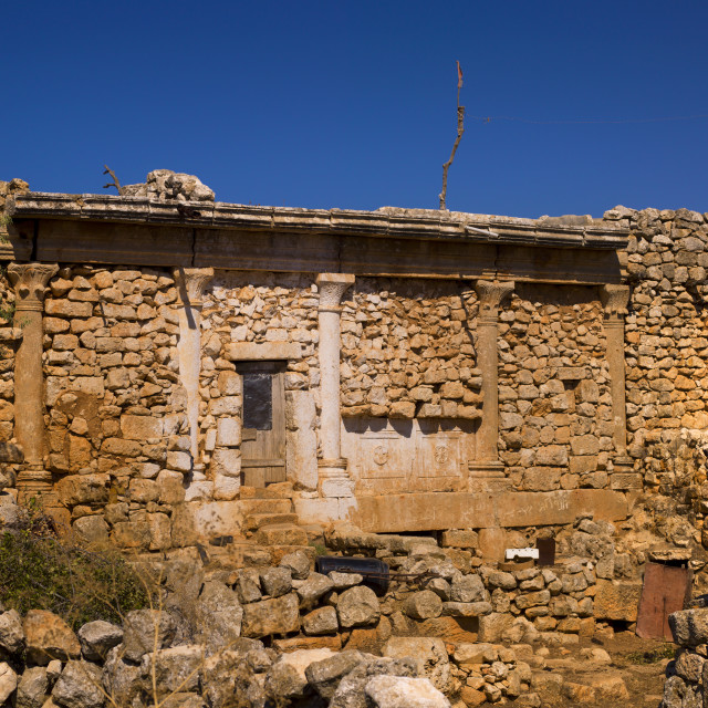 """""""Old House In Refade, Syria"""" stock image"""