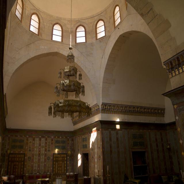 """Mansouriya Palace, Aleppo, Syria"" stock image"