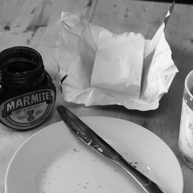 """Marmite"" stock image"