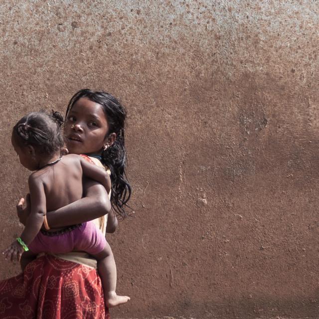 """children of Orissa2"" stock image"