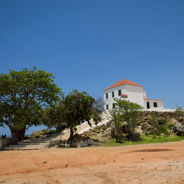 """National Slavery Museum In Luanda, Angola"" stock image"