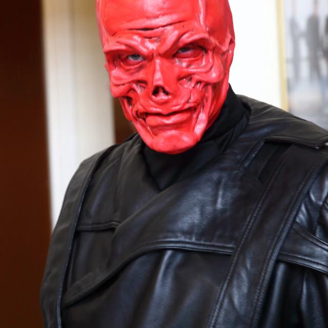 """""""Red Skull"""" stock image"""