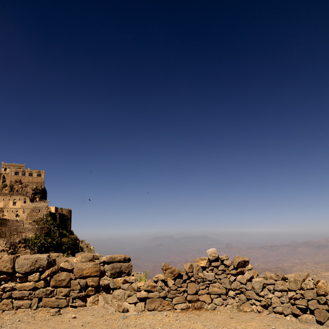 """""""Kholan Village, Yemen"""" stock image"""