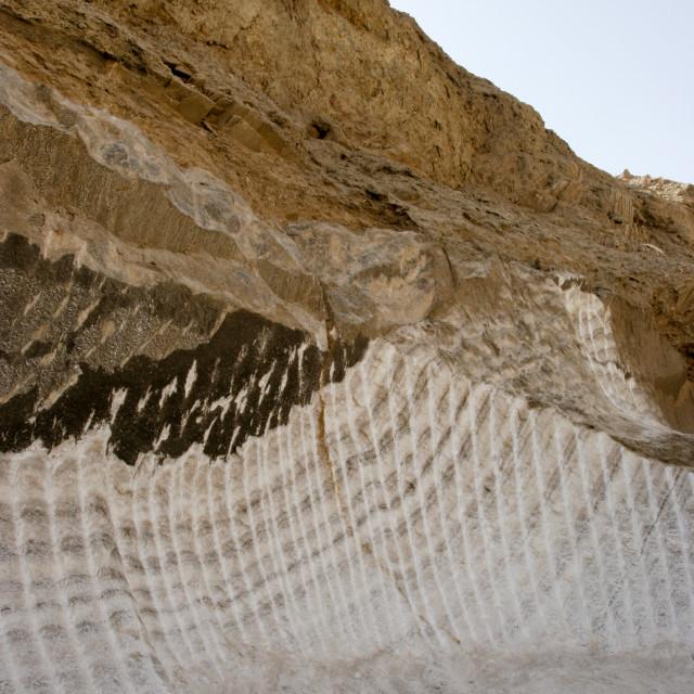 """Salt Mine In Shabwa, Yemen"" stock image"