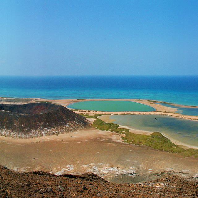 """Jebel Zubair Island In The Red Sea, Yemen"" stock image"