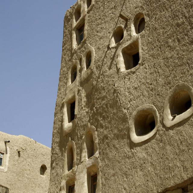 """Amran Traditional Building, Yemen"" stock image"