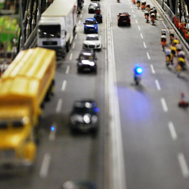 """""""Miniatur Wunderland (miniature wonderland) Hamburg"""" stock image"""