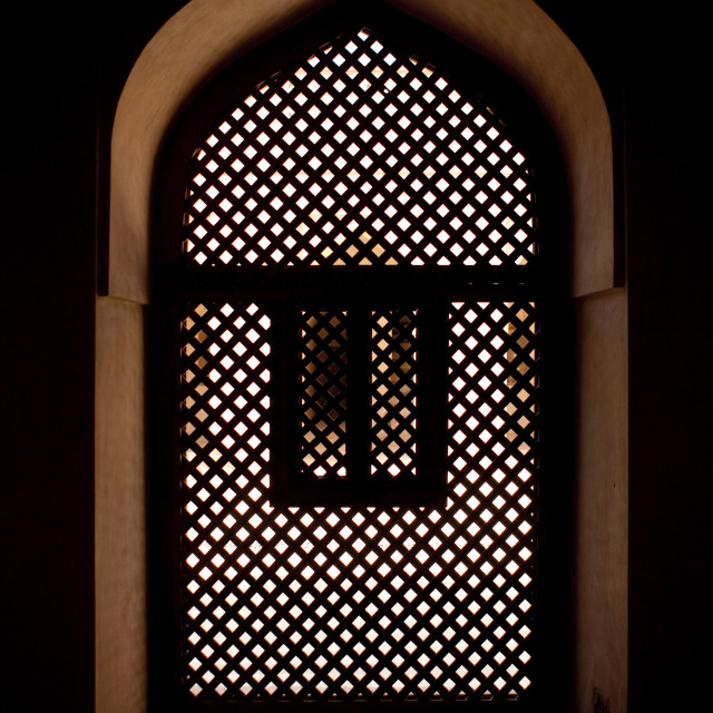 """One Mashirabiya From The Inside, Sur, Oman"" stock image"