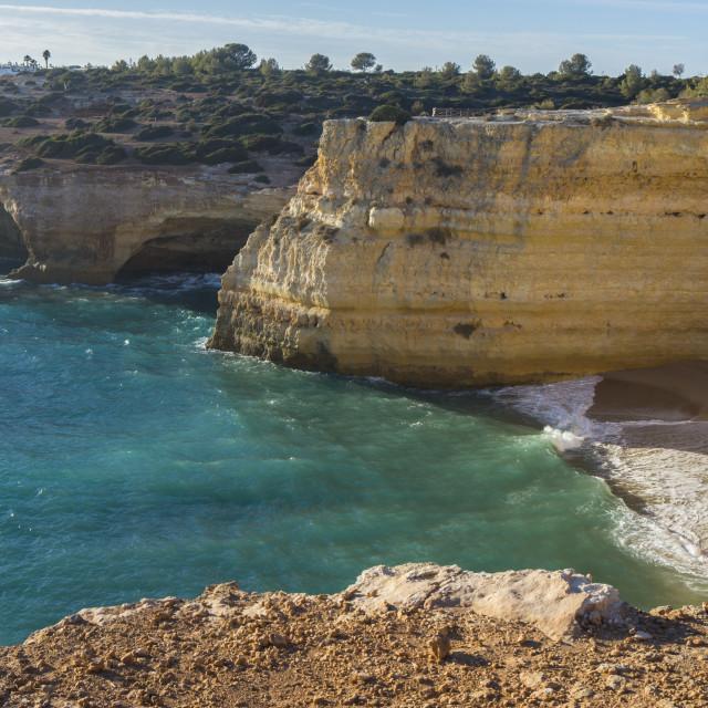 """Algarve beach"" stock image"