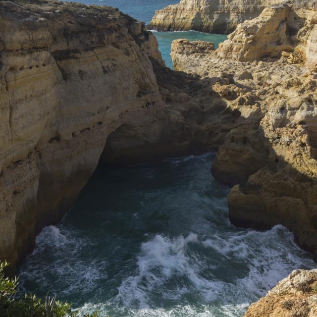 """Algarve coast"" stock image"