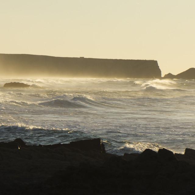 """""""Praia da Amoreira"""" stock image"""