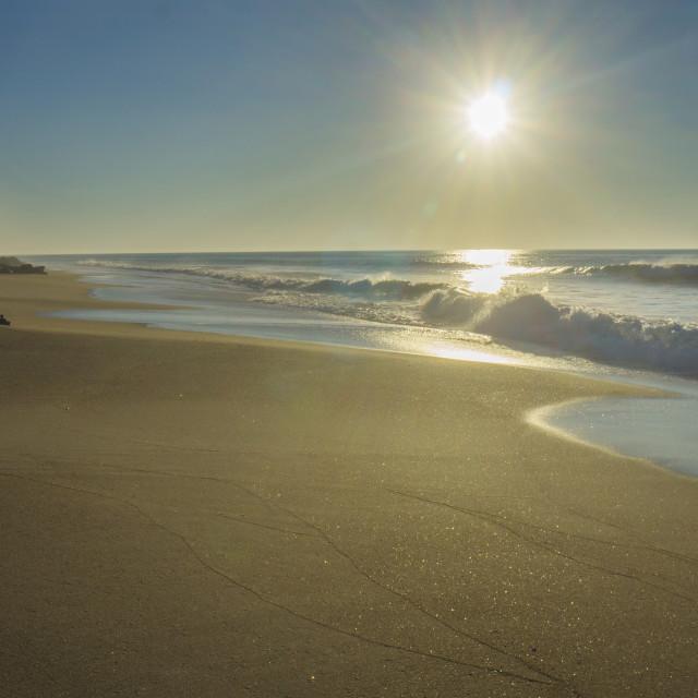 """Portugese beach"" stock image"