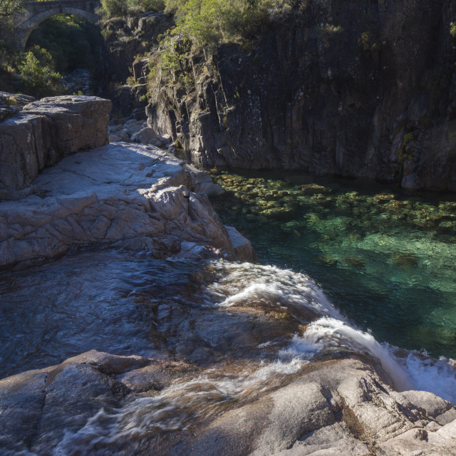 """Mountain pool"" stock image"