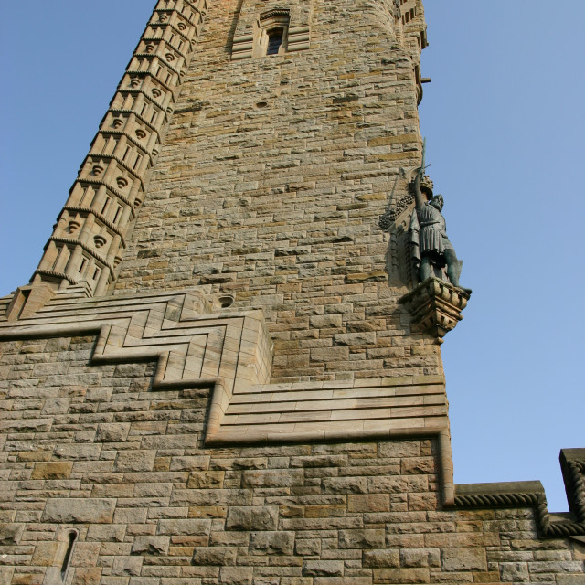 """Wallace Monument"" stock image"