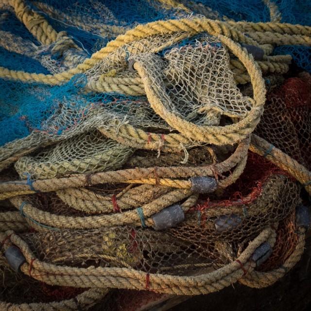 """""""Ropes and nets"""" stock image"""
