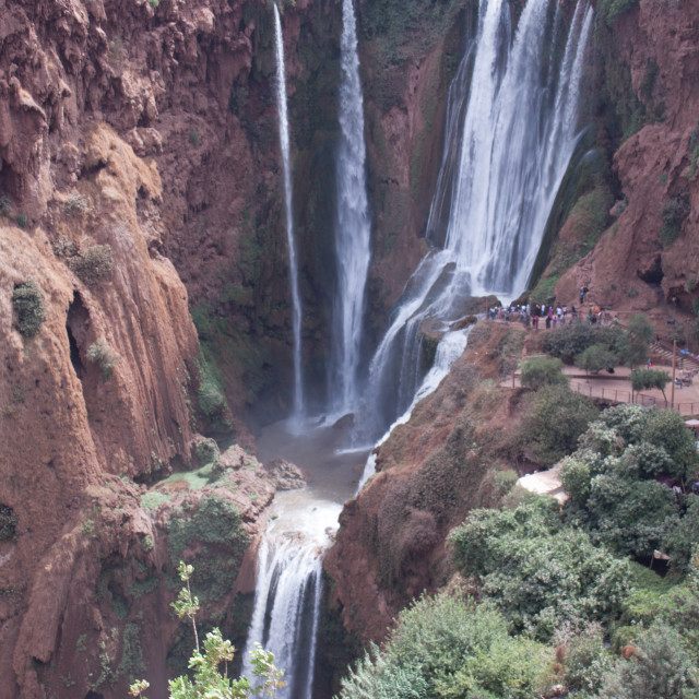 """""""Ouzoud Falls in Morocco"""" stock image"""