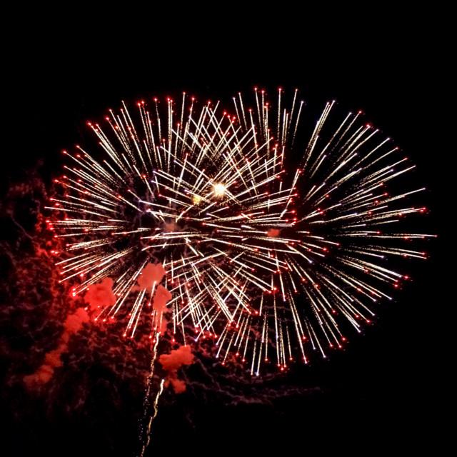 """Fireworks display"" stock image"
