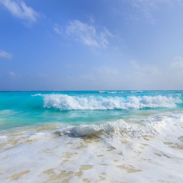 """Powder Blue Seas"" stock image"