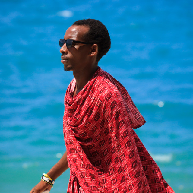 """Modern Maasai"" stock image"