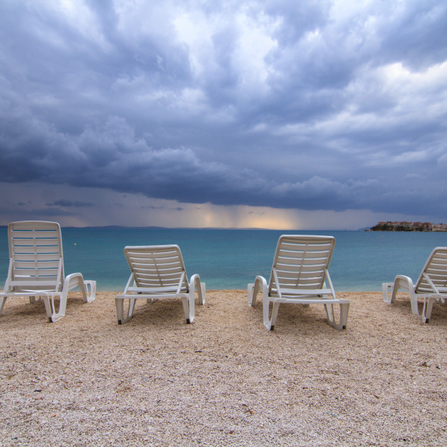 """Summer Storm"" stock image"