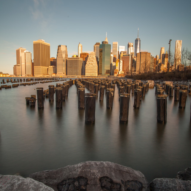 """Brooklyn Pier"" stock image"