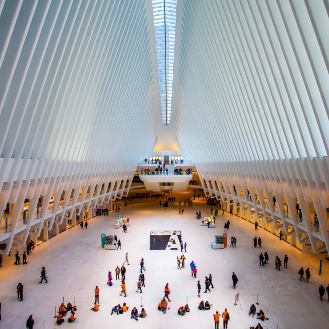 """WTC Path Station"" stock image"