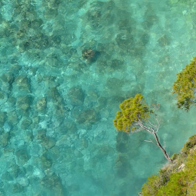 """""""Kampi beach at Zakynthos"""" stock image"""