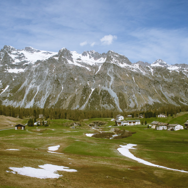 """""""springtime in fex valley"""" stock image"""