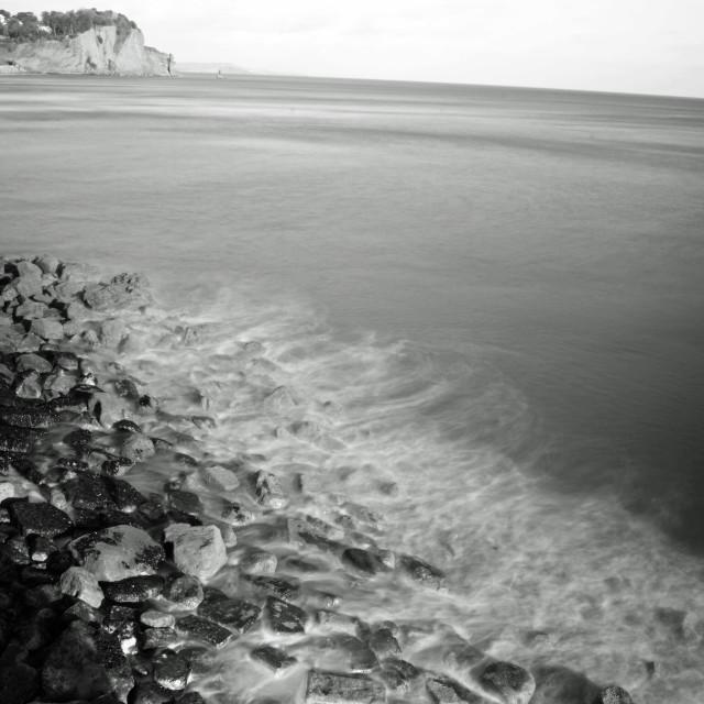 """Misty Ocean"" stock image"