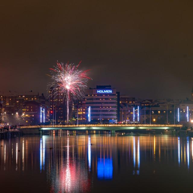 """Fireworks 2018"" stock image"