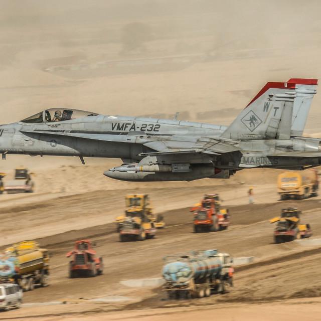 """""""VMFA-232 Hornet"""" stock image"""