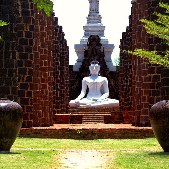 """""""Buddha Meditation"""" stock image"""