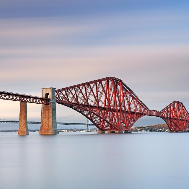 """Forth Railway Bridge"" stock image"
