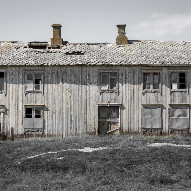"""""""Old abandoned house"""" stock image"""