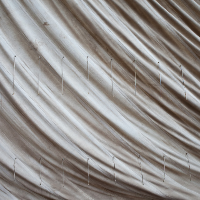 """Old Sailcloth Background"" stock image"