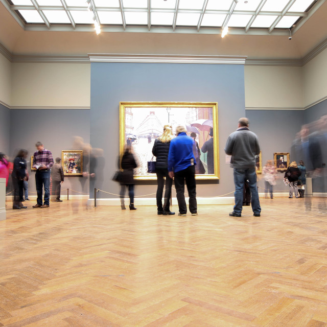 """Art Institute of Chicago"" stock image"