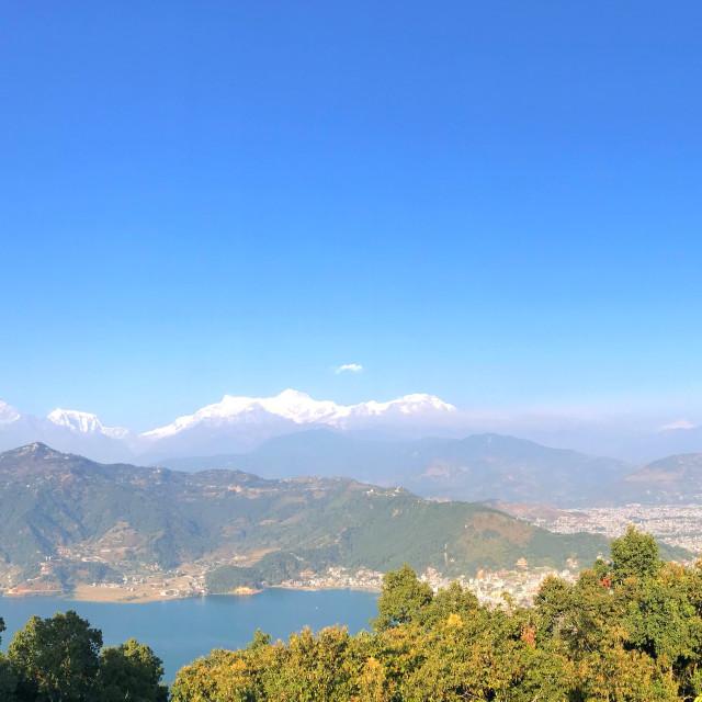 """Landscape of Nepal"" stock image"