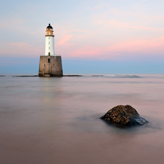"""Rattray Lighthouse Sunset"" stock image"