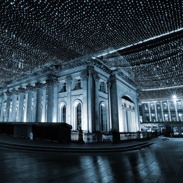 """Royal Exchange Square Glasgow"" stock image"