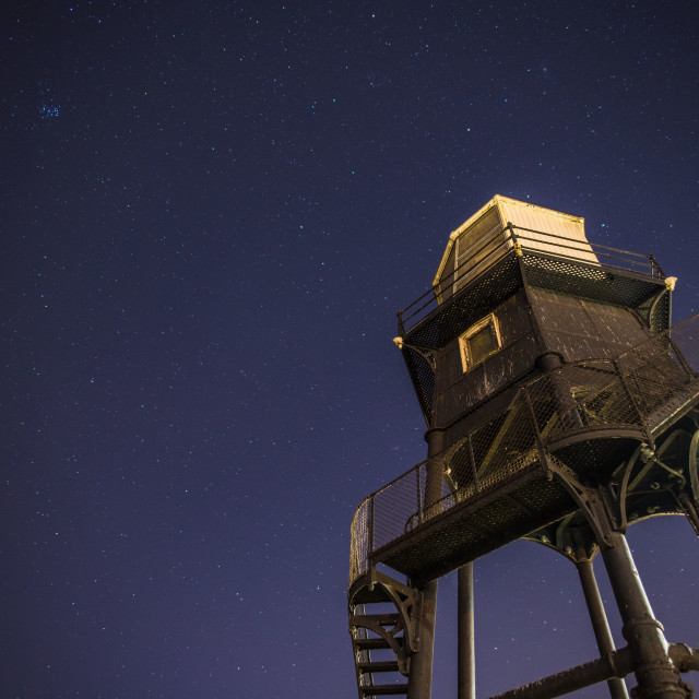 """Dovercourt Highlight Under Stars"" stock image"