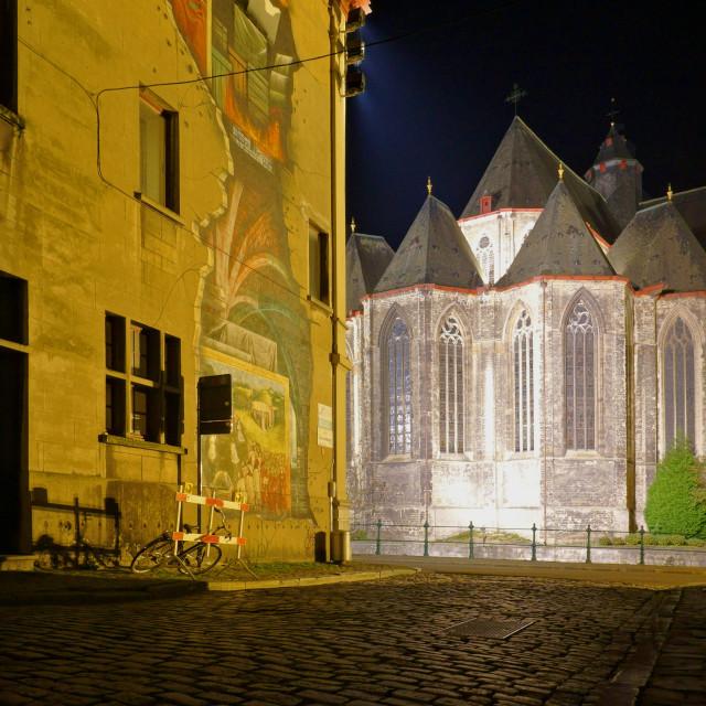 """""""Street art in Gent"""" stock image"""