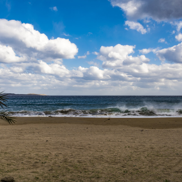 """Beach of Vai, Crete, Greece"" stock image"