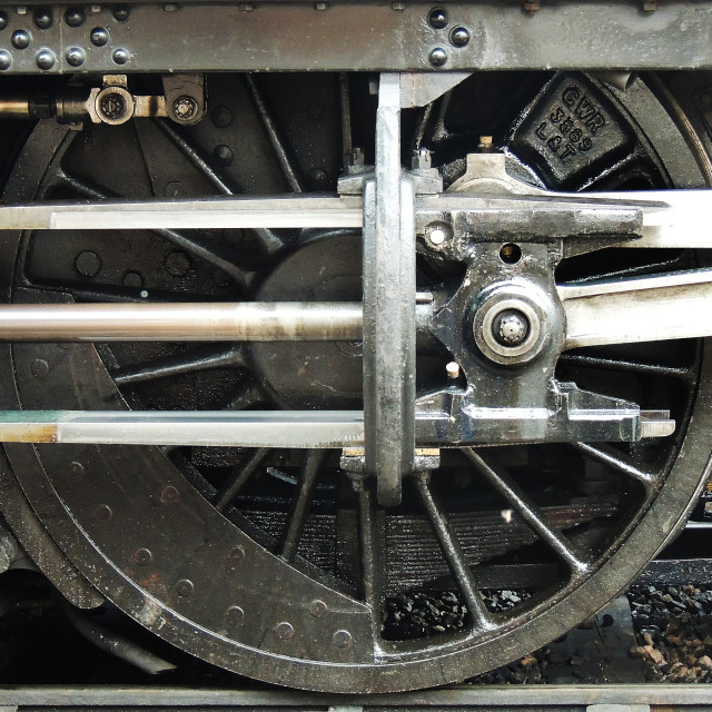 """Vintage Wheel"" stock image"