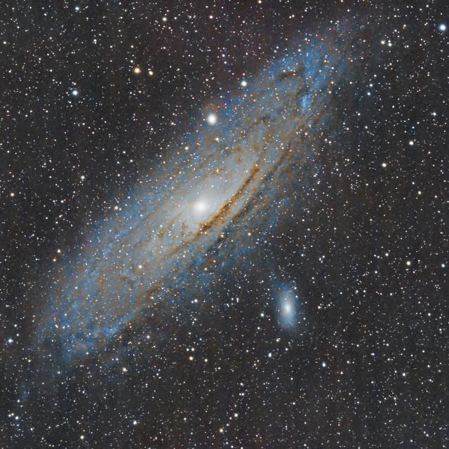 """""""Andromeda Galaxy"""" stock image"""
