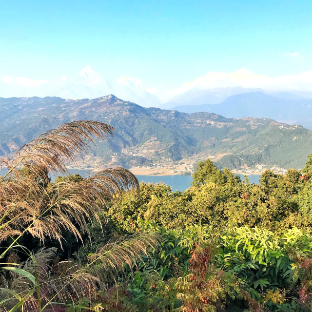 """Landscape of Himalayan Range"" stock image"