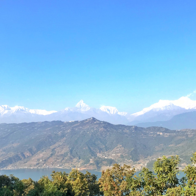 """Himalayan Range"" stock image"