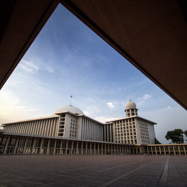 """""""Istiqlal Mosque"""" stock image"""