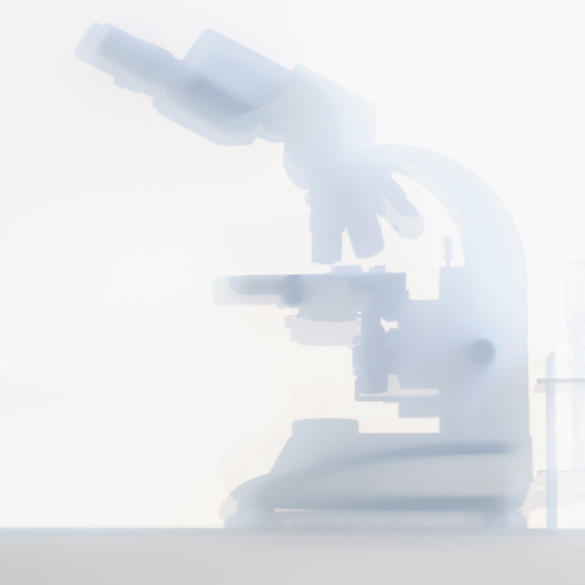 """Laboratory microscope"" stock image"