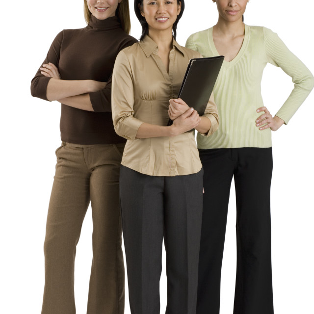 """Group of multi-ethnic businesswomen"" stock image"