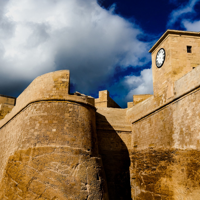 """Citadel Gozo"" stock image"